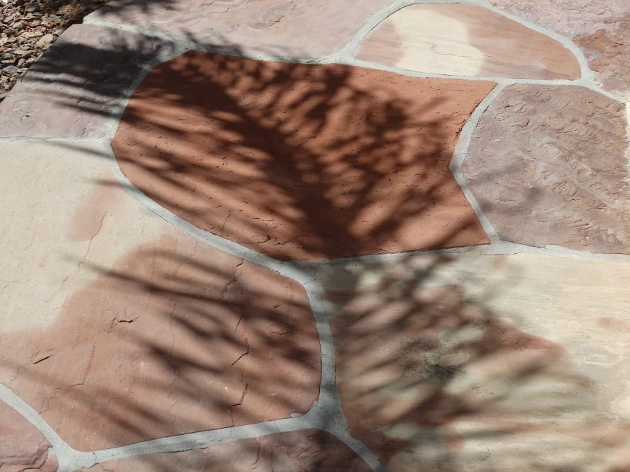 Flagstone patio repair | Flagstone | Interiors | Photo Gallery | Baker's Travertine Power Clean