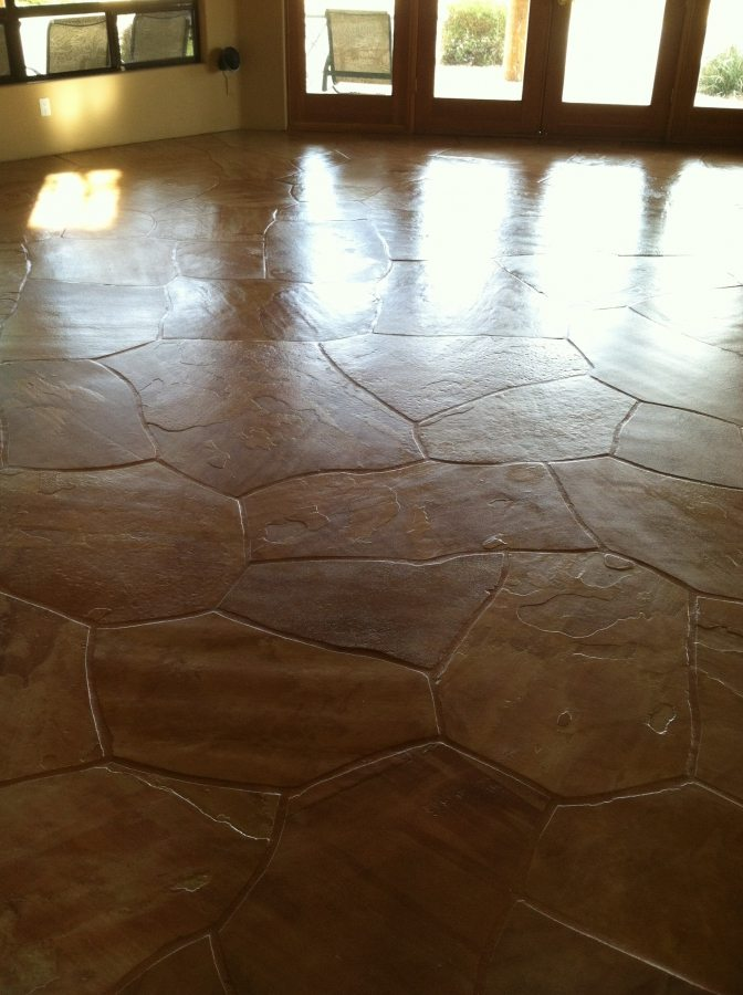 Flagstone: cleaned and sealed | Flagstone | Interiors | Photo Gallery | Baker's Travertine Power Clean