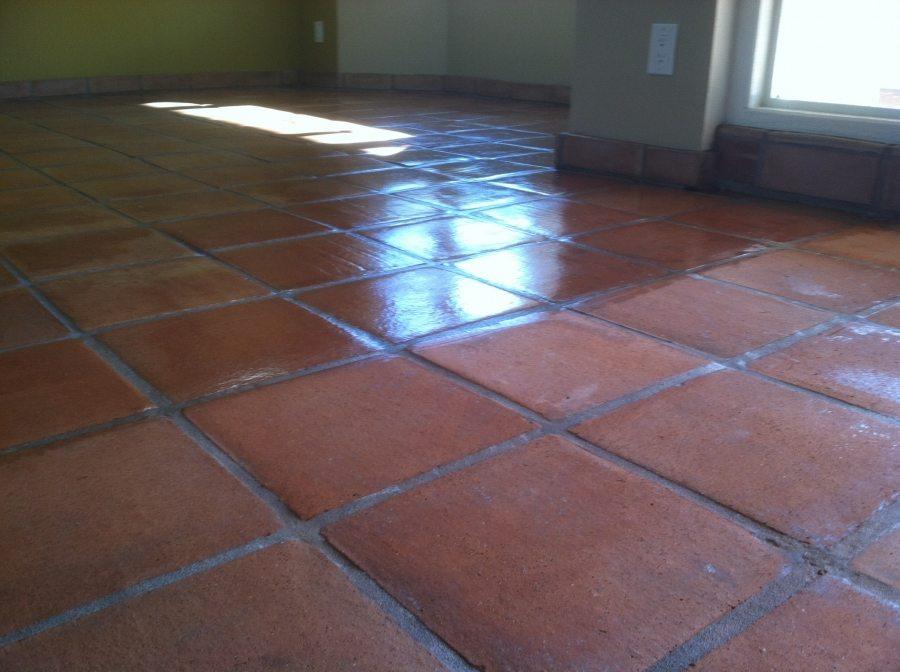 Saltillo before/after Tempe | Saltillo Interior | Photo Gallery | Baker's Travertine Power Clean