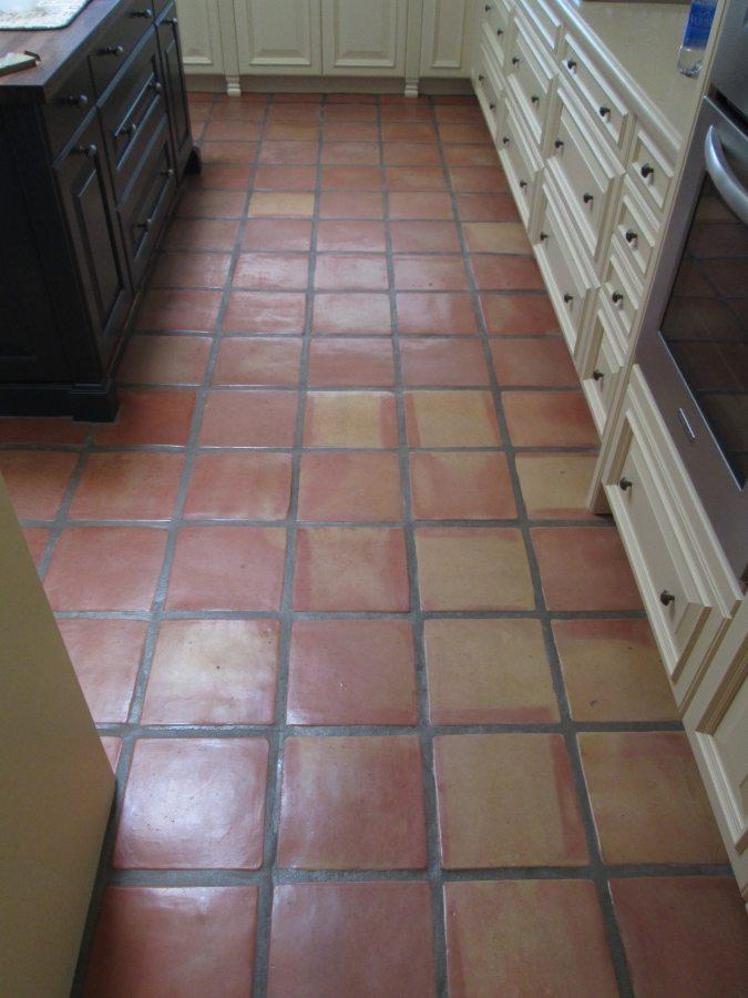 Saltillo kitchen Paradise Valley | Saltillo Interior | Photo Gallery | Baker's Travertine Power Clean