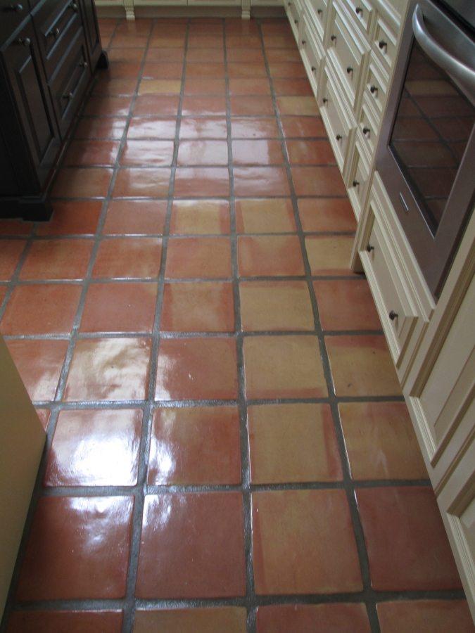 After: Saltillo kitchen Paradise Valley | Saltillo Interior | Photo Gallery | Baker's Travertine Power Clean