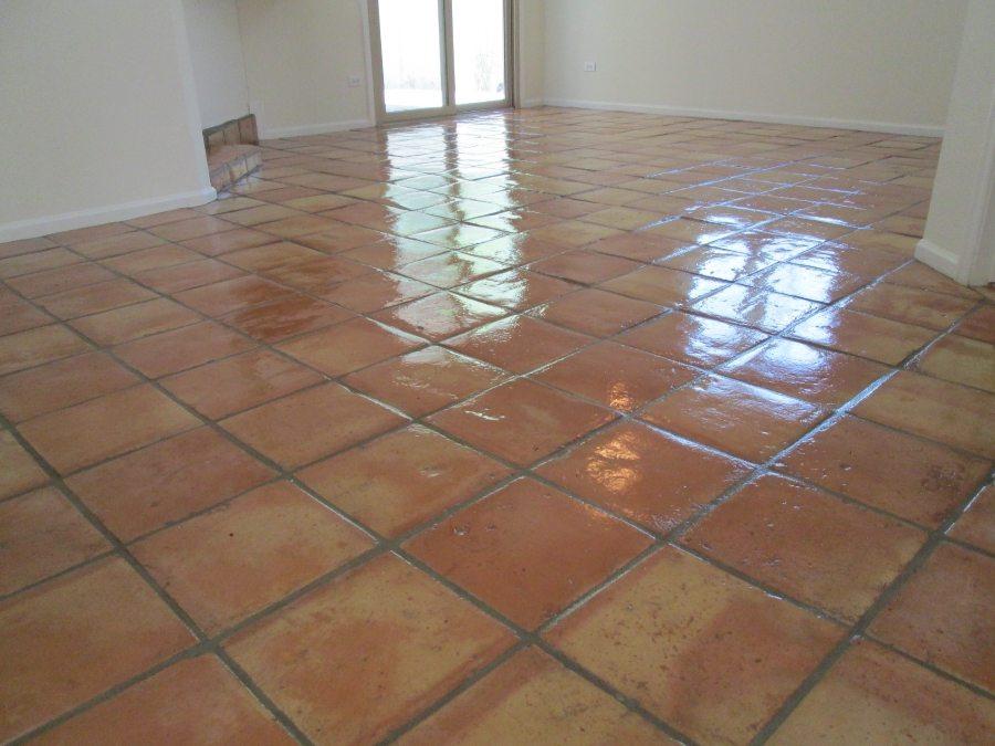 After: Saltillo Scottsdale | Saltillo Interior | Photo Gallery | Baker's Travertine Power Clean