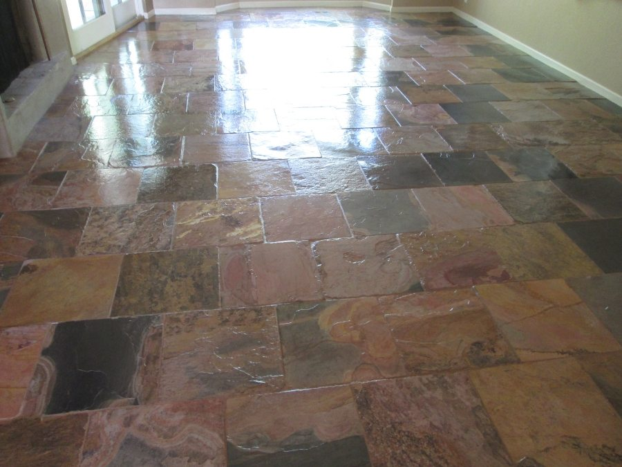 Slate Interiors Gallery Baker S Travertine Power Clean