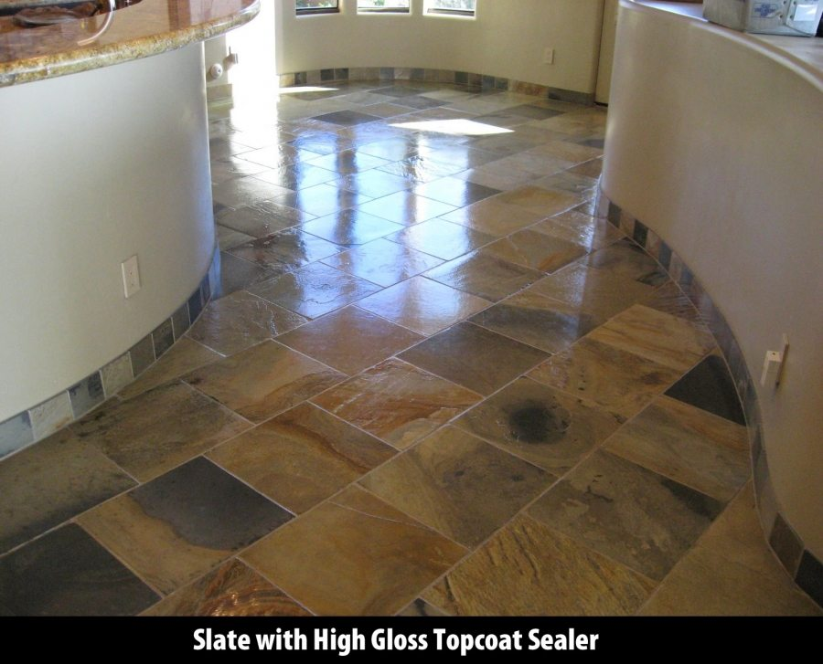 Slate kitchen in Scottsdale | Slate | Interior | Photo Gallery | Baker's Travertine Power Clean
