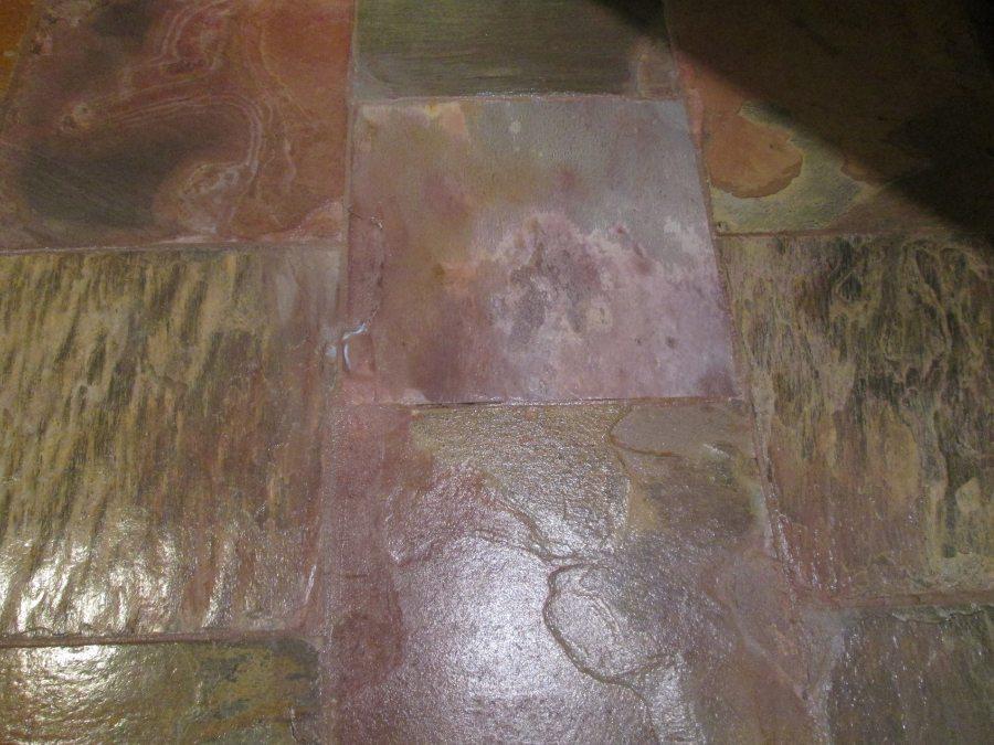Slate repair in chandler | Slate | Interior | Photo Gallery | Baker's Travertine Power Clean