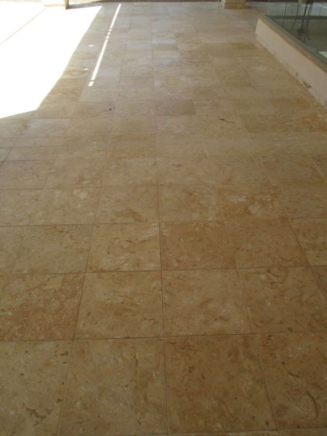 After: Cantera patio in Scottsdale | Cantera Exterior | Photo Gallery | Baker's Travertine Power Clean