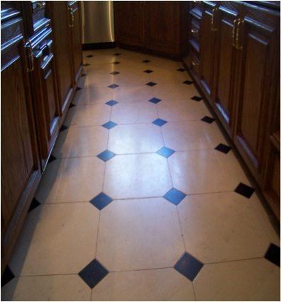 Before: Limestone kitchen | Limestone Interior | Photo Gallery | Baker's Travertine Power Clean