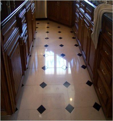 After: Limestone polish | Limestone Interior | Photo Gallery | Baker's Travertine Power Clean