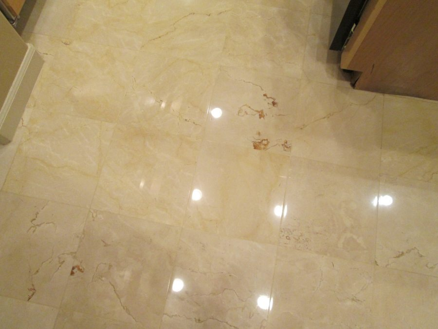 After: Marble kitchen High Gloss | Marble | Interiors | Photo Gallery | Baker's Travertine Power Clean
