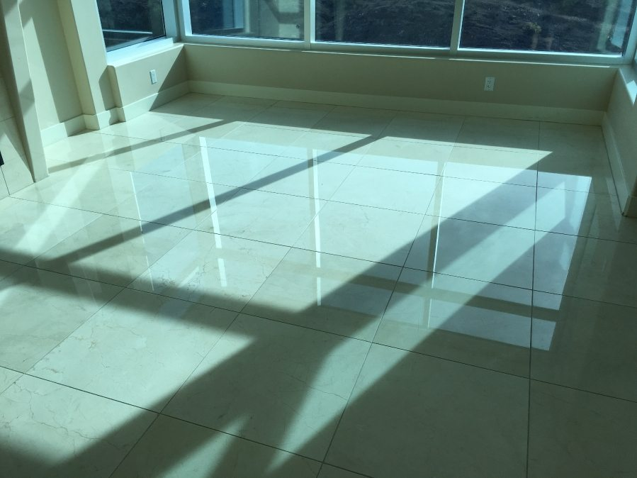 After: Marble floor | Marble | Interiors | Photo Gallery | Baker's Travertine Power Clean