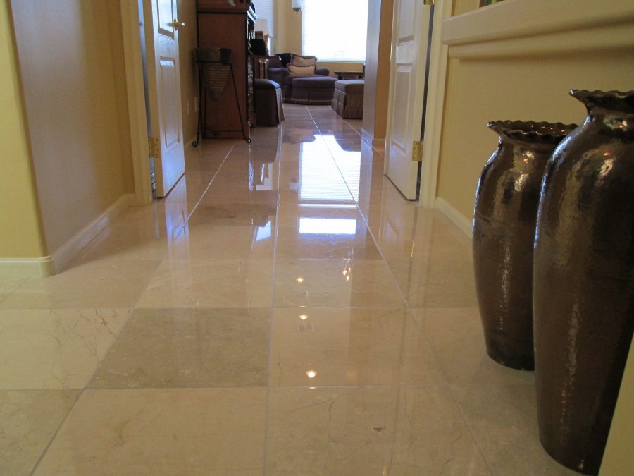 Marble High Gloss | Marble | Interiors | Photo Gallery | Baker's Travertine Power Clean