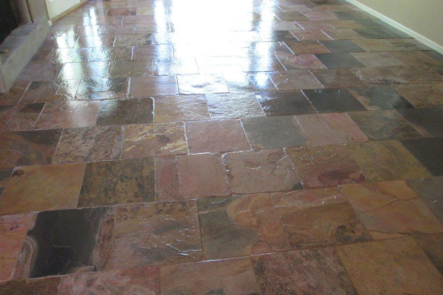 Slate Flooring Cleaning Amp Sealing Bakers Travertine