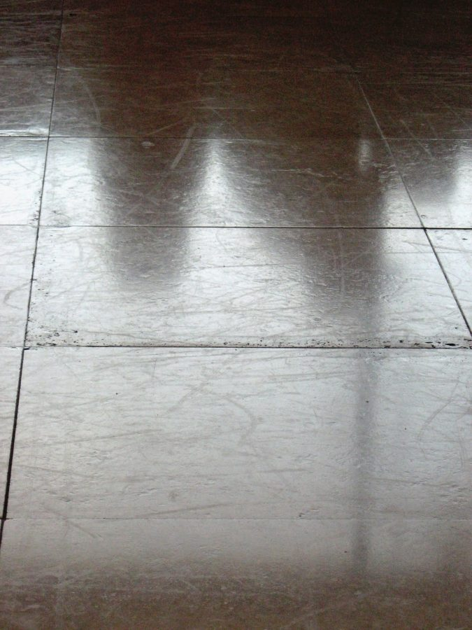 Coating on Travertine | Travertine Coating | Photo Gallery | Travertine | Baker's Travertine Power Clean
