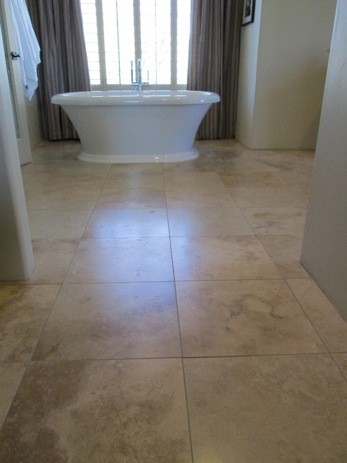 Before: Travertine in Chandler