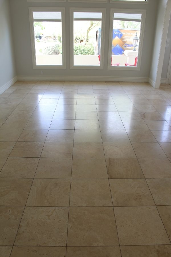 Before: Travertine in Fountain Hills