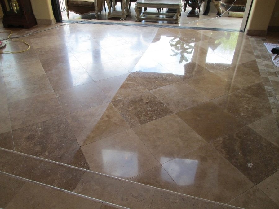 Travertine Transformation High Gloss in San Tan Valley