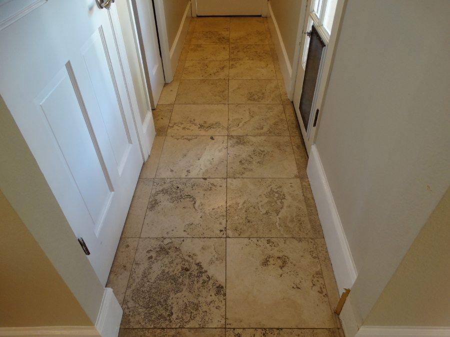 Before: Travertine in Scottsdale