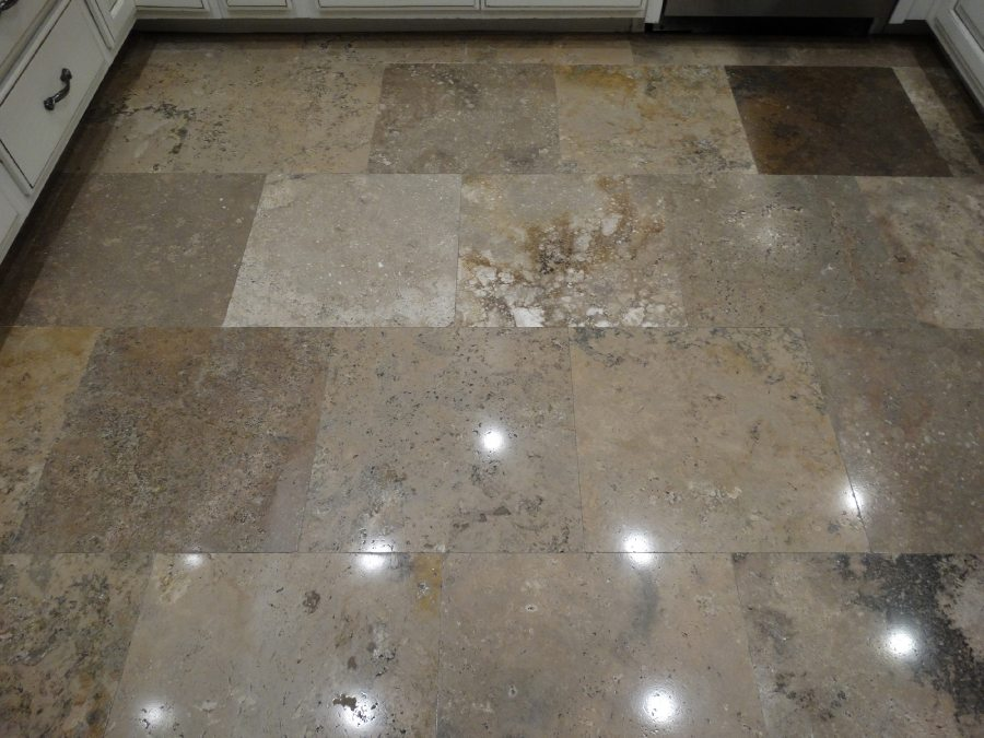 After: Travertine Light Polish in Phoenix