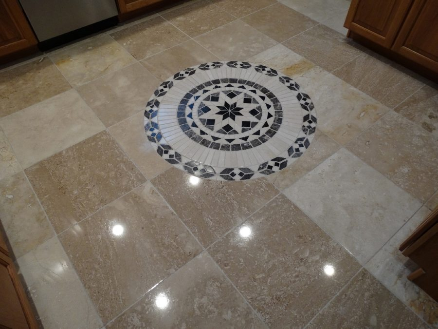 After: Travertine Light Polish in Chandler